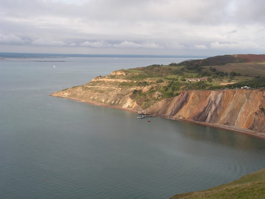 Alum Bay Chine