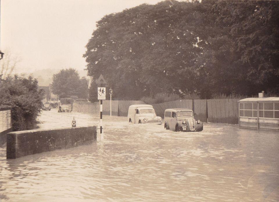 Carisbrooke Road 1960 - credit Wayne Pritchett